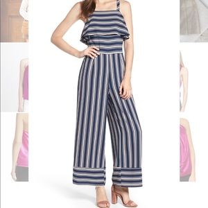 NEW Leith Stripe Jumpsuit